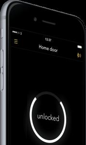 noki-iphone-serrure connecté
