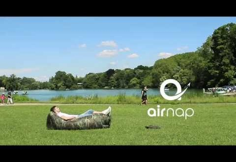 Airnap : le airsofa, made in France