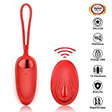 Masseur Portable Sans Fil - FIDECH 12 modes de Vibration Silicone Imperméable