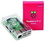 Raspberry Pi Official 3 Modèle B+ avec étui