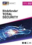 Bitdefender Total Security 2019 | Standard | 10 appareils| 2 Années | PC/Mac | Code d'activation - envoi par email