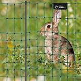 VOSS.PET Filet électrifiable Compact petNET pour enclos Lapins/lièvres, Petits Animaux, Longueur 12 m, Hauteur 65 cm, 9 piquets, 1 Pointe, Coloris Vert