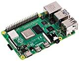 Raspberry Pi 4 Modèle B 4 Go ARM-Cortex-A72 4 x 1,50 GHz, 4 Go de RAM, WLAN-AC, Bluetooth 5, LAN, 4 x USB, 2 x Micro HDMI