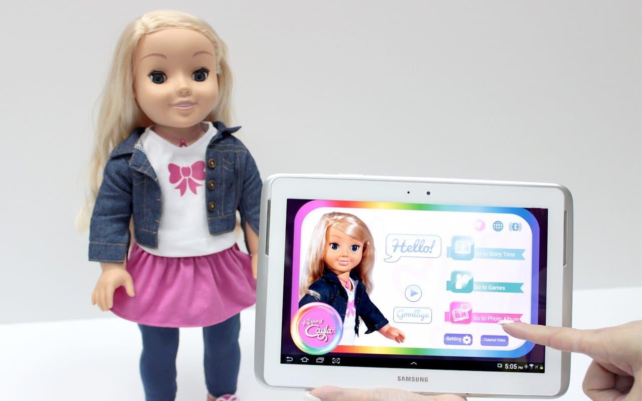 Cayla: poupée connectée