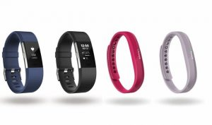 Fitbit Charge 2 et flex 2