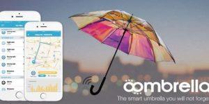 Oombrella, le parapluie intelligent