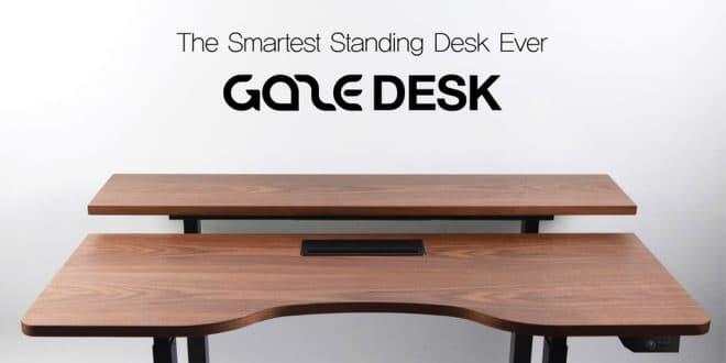 Le Gaze Desk, ou la santé au travail