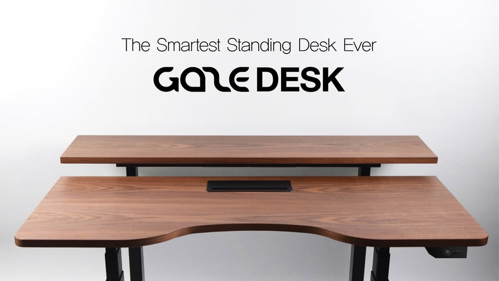 Gaze Desk : le bureau connecté