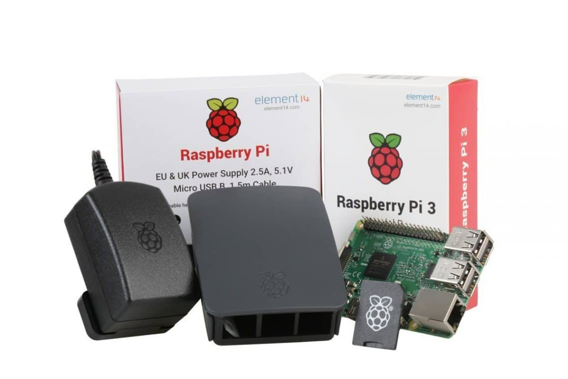 Pack Raspberry pi 3