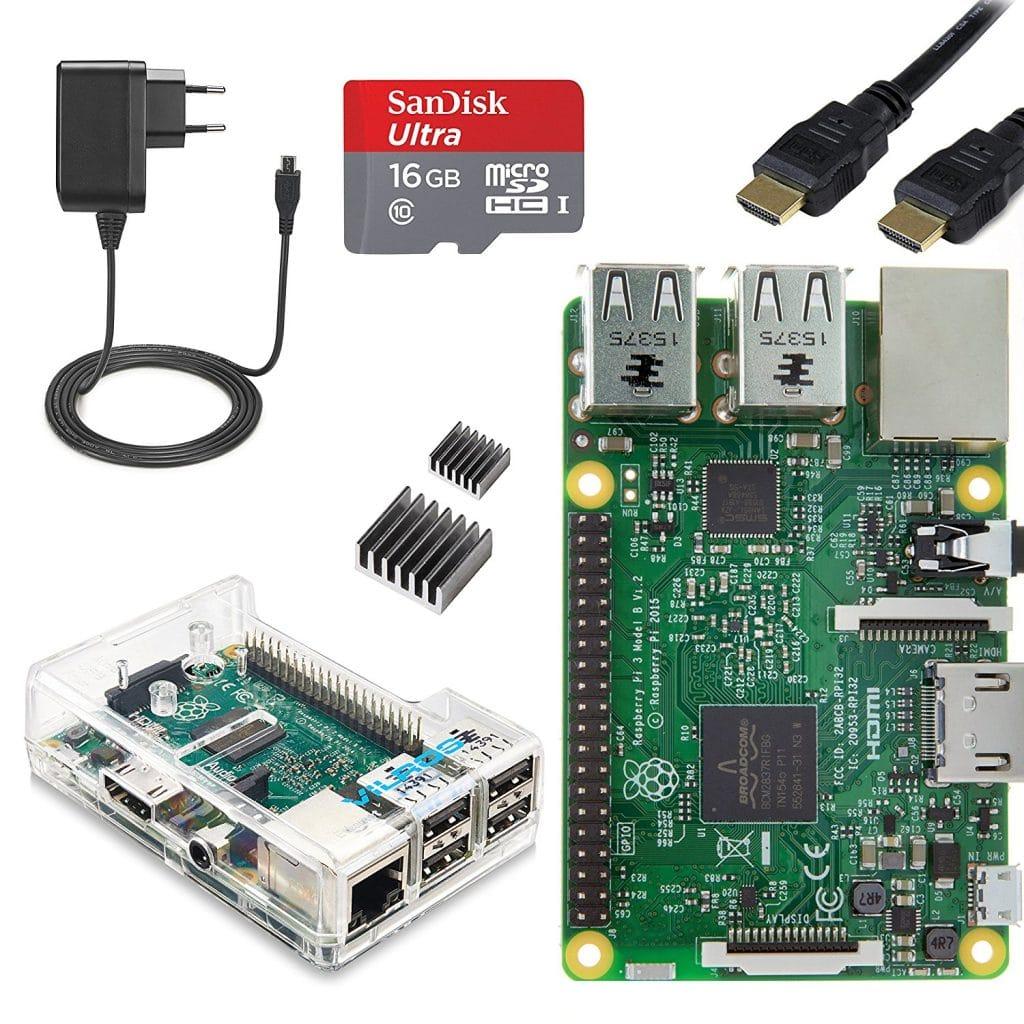 Raspberry starter Kit 3