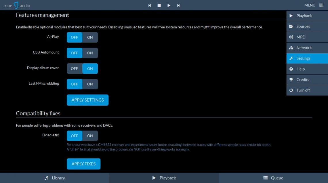 RuneAudio AirPlay