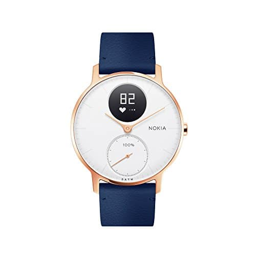 nokia steel hr rose gold montre connect e hybride suivi d 39 activit. Black Bedroom Furniture Sets. Home Design Ideas