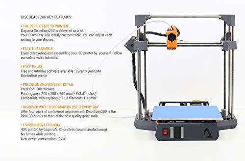 imprimante 3d discoeasy200 en kit par dagoma a monter soi m me fac. Black Bedroom Furniture Sets. Home Design Ideas